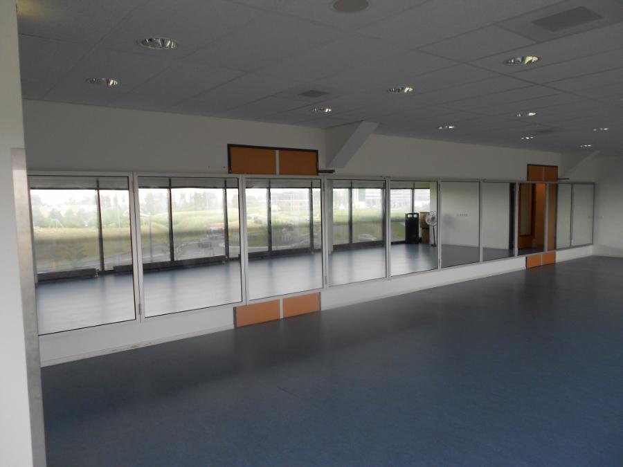 klap-spiegels (open sporthal Den haag