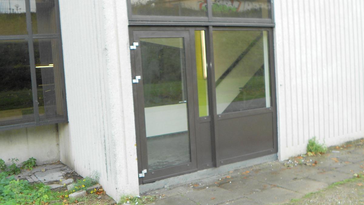 Vluchtdeur trappenhuis parkeergarage